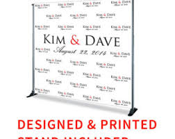 Wedding Backdrop Banner Red Carpet Banner