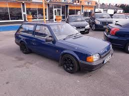 ford escort estate 1 3 rs turbo alloy wheels 92k loads history