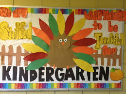 thanksgiving bulletin board library