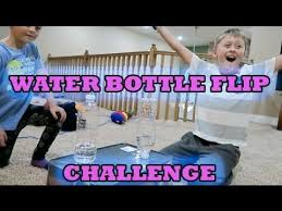 Romanatwoodvlogs Water Challenge Bottle Flip Challenge Ft Noah And Atwood