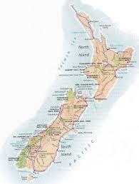 Map New Zealand Maps Of New Zealand Auckland Wellington The Capital City