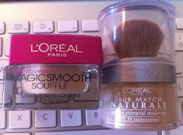 l 39 oreal paris magic smooth soufflé true match naturale gentle mineral makeup spf 19 makeup