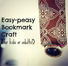 ribbon bookmark craft kid made christmas gifts california to