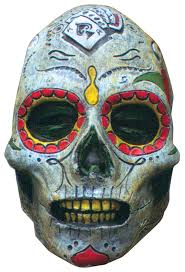 day of the dead masks buy day of the dead mask trick or treat studios km103