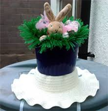 Easy Easter Bonnet Decorations by Fun With Easter Bonnets The Lone In A Crowd