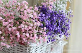 baby s breath wholesale wholesale artificial plastic flower big wedding gypsophila baby s