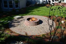 Rustic Firepit Pits Materials