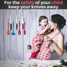 kitchen knives for children amazon com elegant magnetic knife holder 18