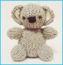 free knitting pattern for baby koala so cute and easy to make
