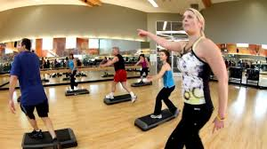 step class dvd step class at la fitness