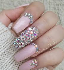 imagenes de uñas acrilicas con pedreria 4320 piedra cristal decoración uñas acrilico gel swarovski