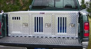 Owens Comfort Systems Aluminum Dog Boxes Transport Your Dog In Comfort And Security