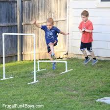 Backyard Ninja Warrior Course Diy American Ninja Warrior Backyard Obstacle Course