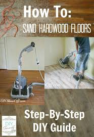 Can You Sand And Stain Laminate Flooring How To Sand Hardwood Floors Apartment Makeover Before Pictures