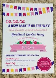 fiesta baby shower invitation u2014 creative conceptions by caroline