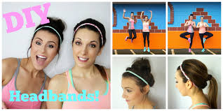 workout headbands d i y workout headbands hairstyles ft thefitswitch