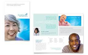 dentist office brochure template word u0026 publisher