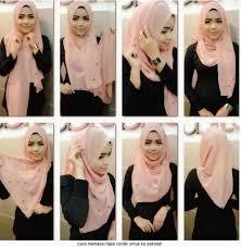 tutorial hijab pashmina untuk anak sekolah cara memakai jilbab ala laudya cynthia bella simple lifestyle fashion