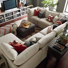 U Sofas Decoration U Shaped Sectional Sofa Home Decor Ideas