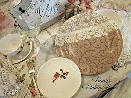 penny u0027s vintage home wedding table settings
