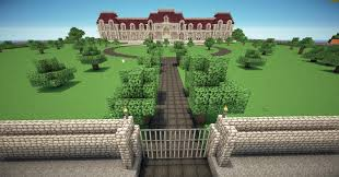 Minecraft House Design Xbox 360 by Might Have A Wall Around My Grounds And A Piston Activated Gate