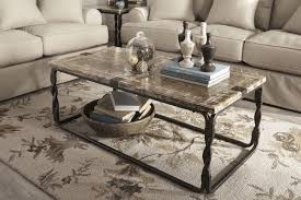 Decorating Ideas For Coffee Table Furniture Brown Leather Coffee Table Decorating Ideas With Small