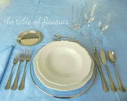 Formal Table Setting Formal Dinner Table Setting The Table Of Flavours Basic Rules For