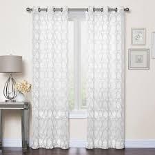 Cotton Canvas Curtains Cotton Canvas Curtain White West Elm Inside Window Treatments