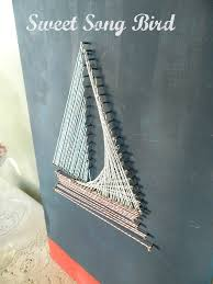 try this diy string art four generations one roof