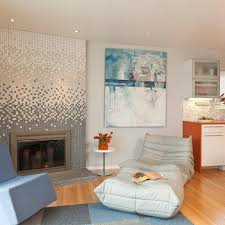 Mosaic Tile Fireplace Surround by Interesting Gradient Mosaic Fireplace Surround Living Room