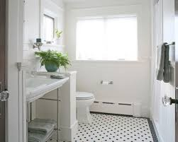 black white tile flooring houzz
