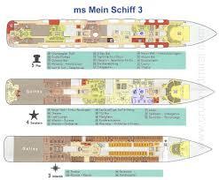 celebrity floor plans mein schiff 3 review mein schiff deck plans