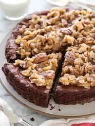german chocolate brownie pie more baking pinterest german