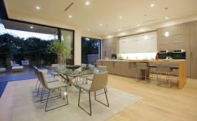 feeling of light and space in a modern house home design garden