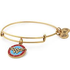 woman bracelet images Wonder woman logo bracelet alex and ani png