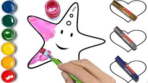 star coloring pages heart coloring pages hand painting how