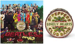 sargeant peppers album cover the beatles sgt peppers lonely hearts club band alternate drum