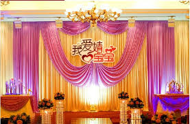Curtains Wedding Decoration 3m 6m Fabric Satin Drape Curtain Wedding Backdrop Canopy Ribbon