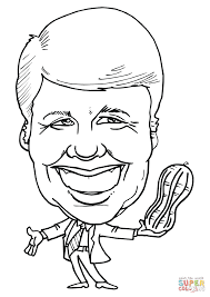 thomas jefferson coloring page william taft us president coloring