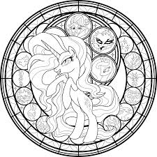 my little pony coloring pages information database