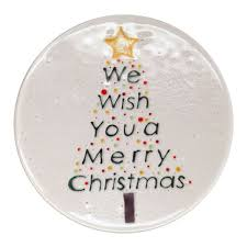 christmas plates free plates project guide fusing delphi glass