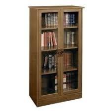 Cherry Bookcases With Glass Doors Cherry Glass Door Bookcase