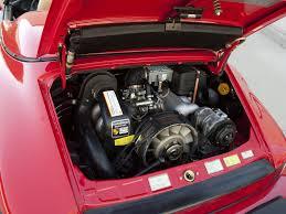 porsche 911 engine 1989 porsche 911 speedster turbolook us spec supercar