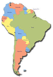 South America Map Countries Flashweather South America