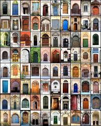 Photography Home Decor Doors From Around The World Door Collage Mosaic Colorful
