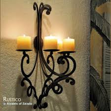 Spanish Style Sconces Iron Candle Holder Iron Candelabra Iron Candleholder