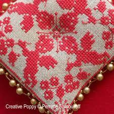 perrette samouiloff baroque ornament cross stitch