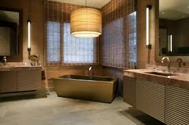 Bathroom Interior Design 10 Quick Tips For Choosing The Perfect Lampshade Freshome Com