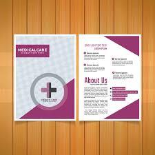 healthcare brochure templates free brochure template vector free