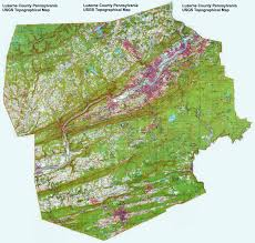 Boston Zoning Map by Luzerne County Pennsylvania Township Maps